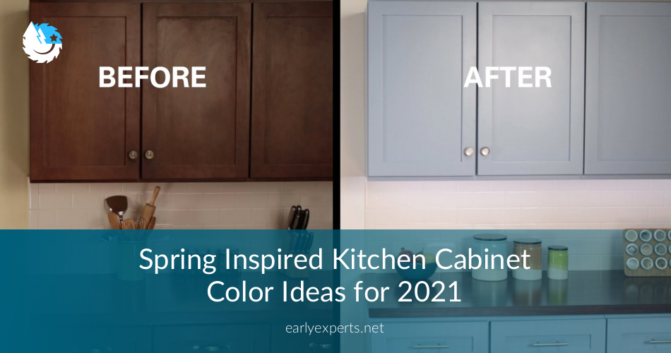 Spring Inspired Kitchen Cabinet Color Ideas For 2019