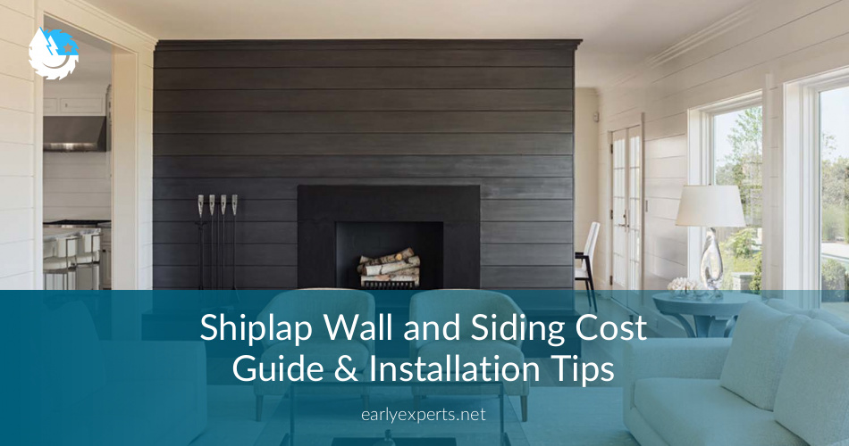 Shiplap Wall And Siding Cost Guide Installation - Cost of shiplap vs sheetrock