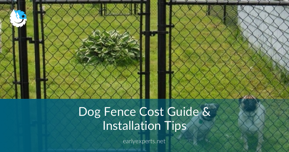 Dog Fence Cost Guide & Installation Tips | EarlyExperts