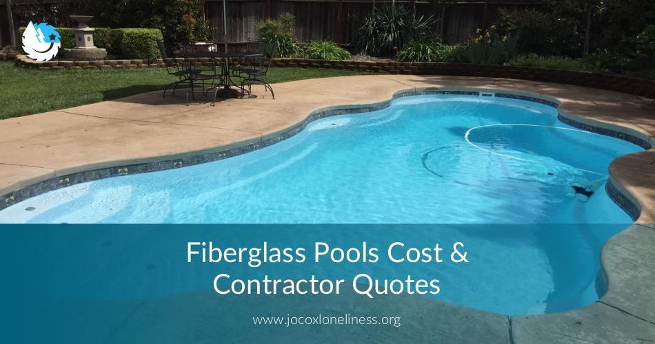 Fiberglass Pools Cost & Contractor Quotes   ContractorQuotes
