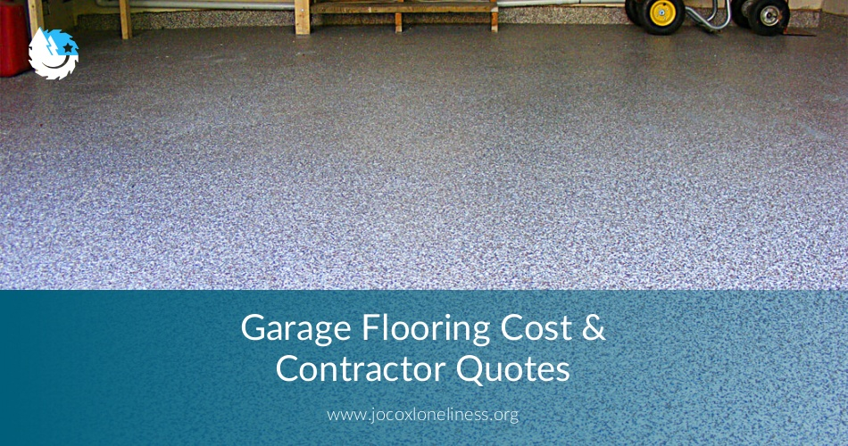 Garage Flooring Cost Amp Contractor Quotes Earlyexperts