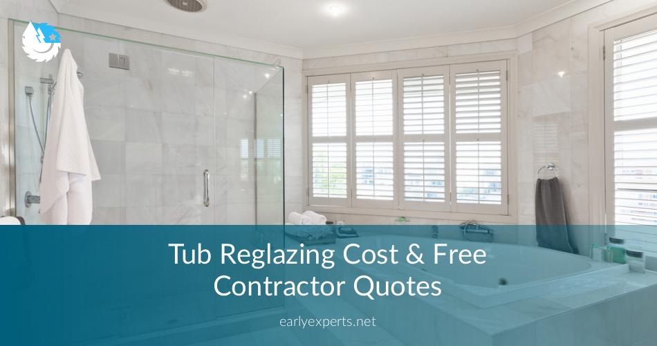 Tub Reglazing Cost & Free Contractor Quotes | ContractorCulture