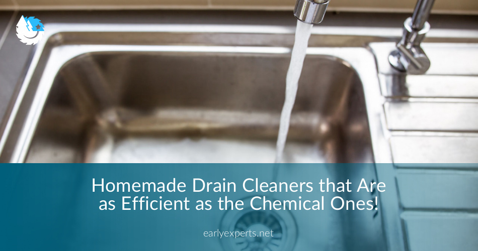 Super Efficient Homemade Drain Cleaners