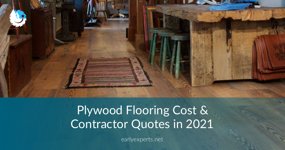 Plywood Flooring Cost Amp Contractor Quotes In 2019