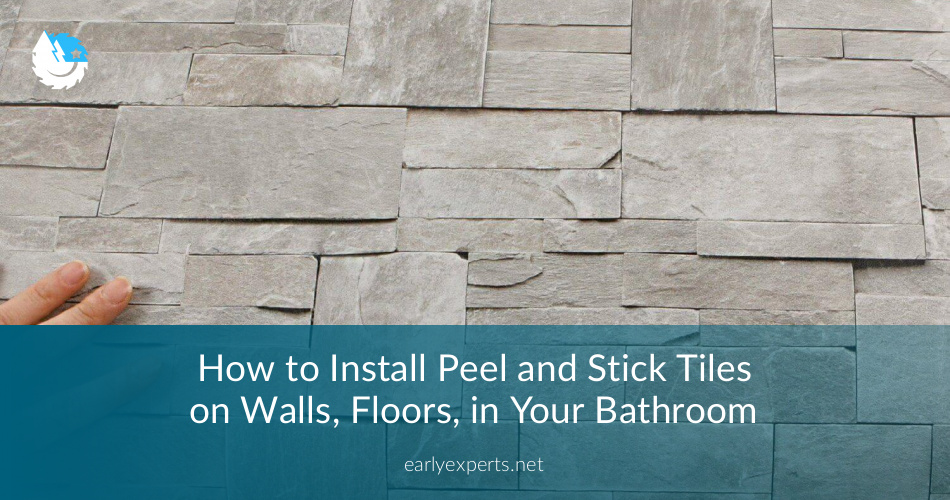 How To Install Peel And Stick Tiles Jocoxloneliness