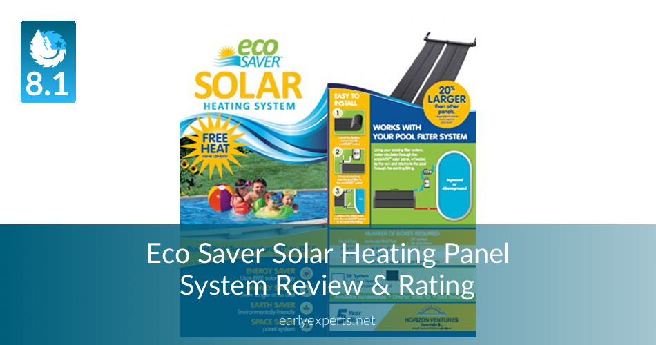 Eco Saver Solar Heating Panel System Review : ContracorCulture